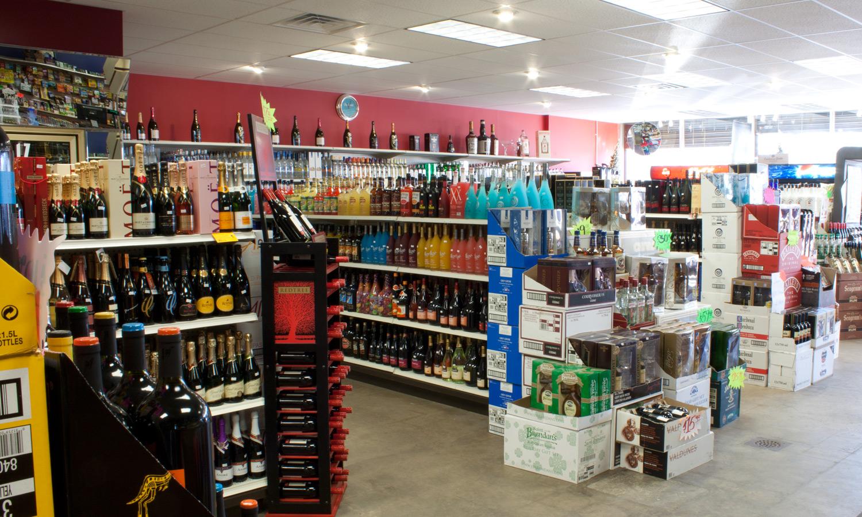 114 Liquors interior