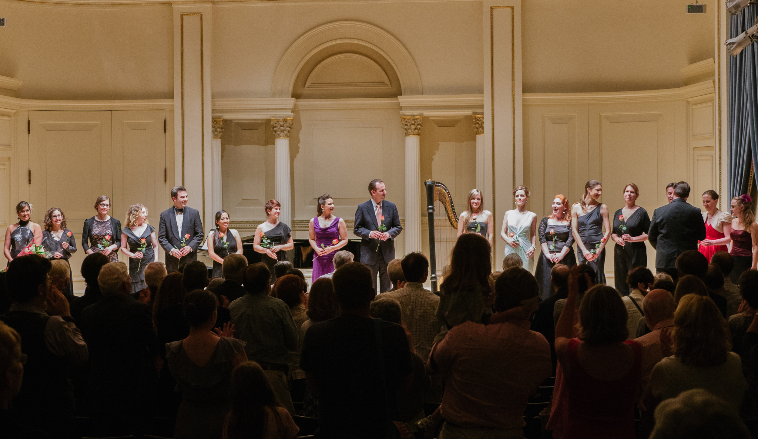 """""""Grace and Friends"""" take a bow at Carnegie Hall"""