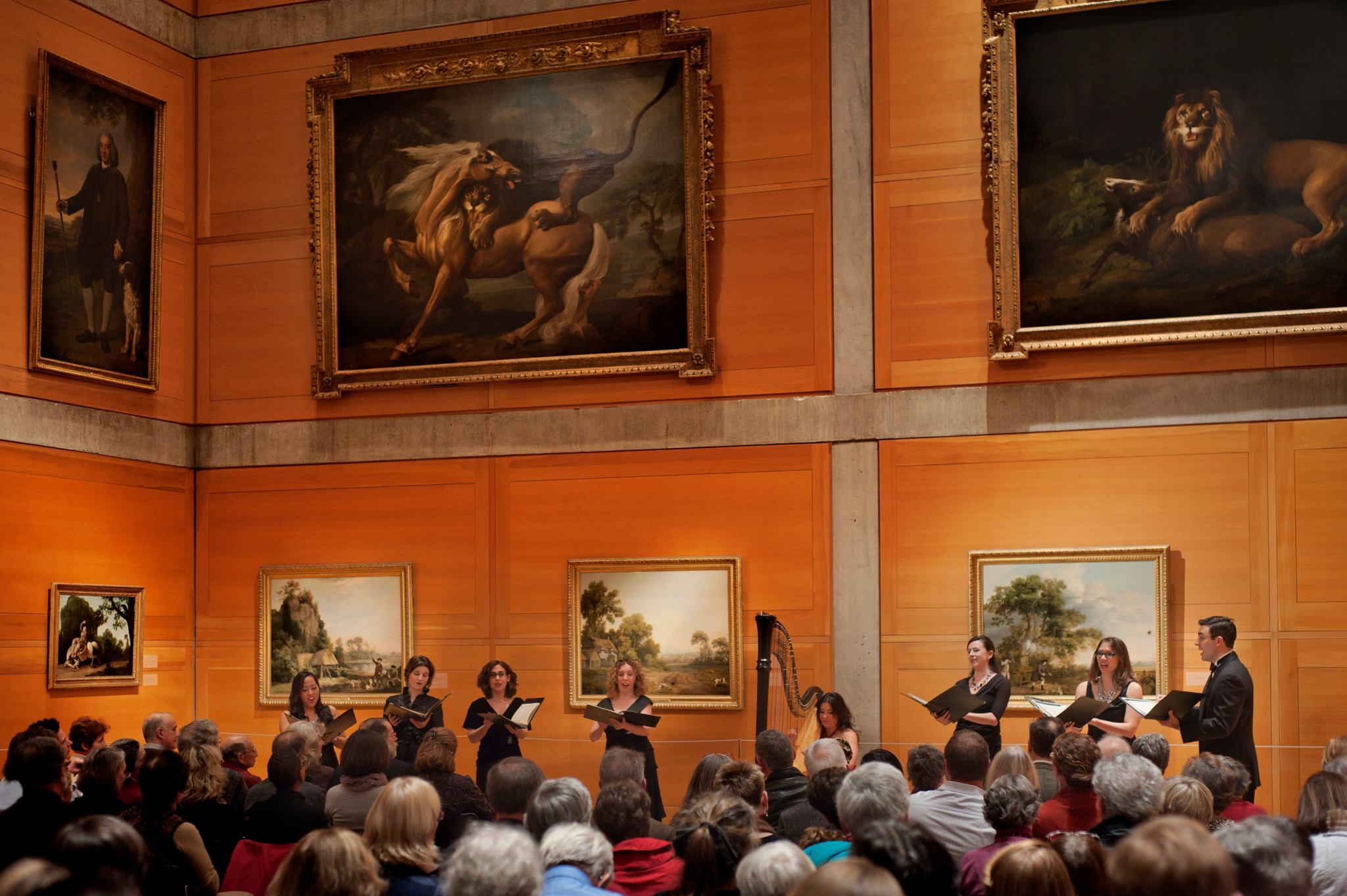 At Yale Center for British Art with Etherea Vocal Ensemble