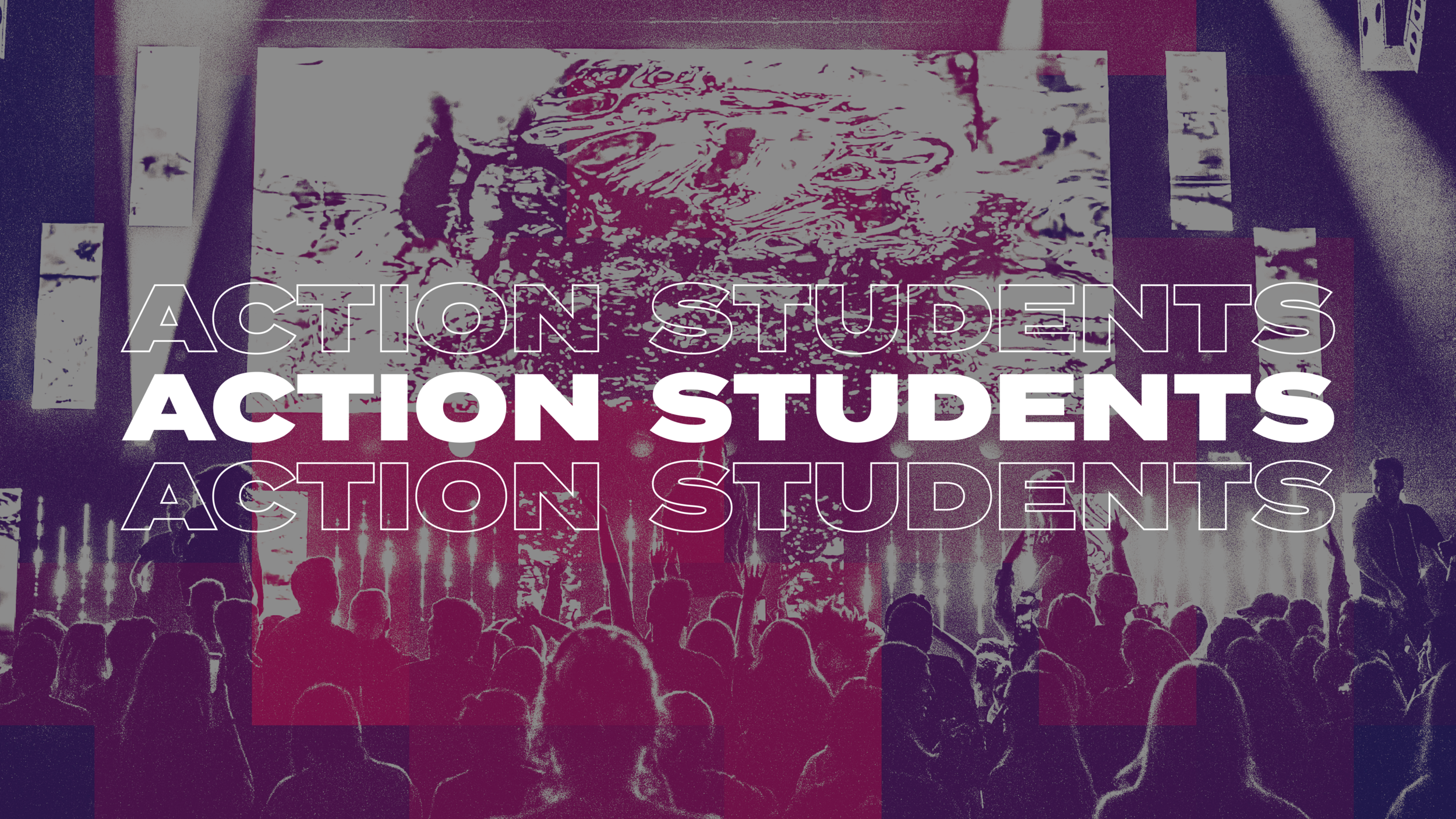 MIDDLE SCHOOL - HIGH SCHOOL   Action Church is devoted to seeing a generation of students who are connected in a relationship with Jesus and thriving within the local church. Our desire is to lead students through the same process we are all going through here at Action; being pastored in Small Groups, trained through the Action Steps, and empowered to live out our purpose through the A-Team.   LEARN MORE