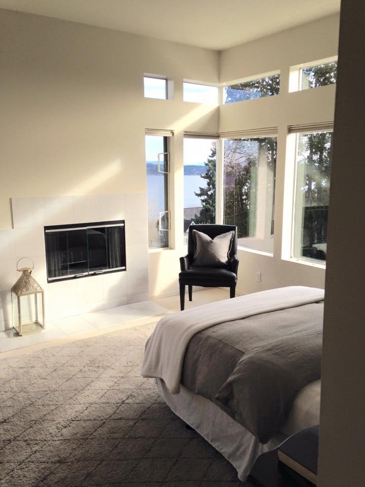 Mt. Baker home master bedroom.