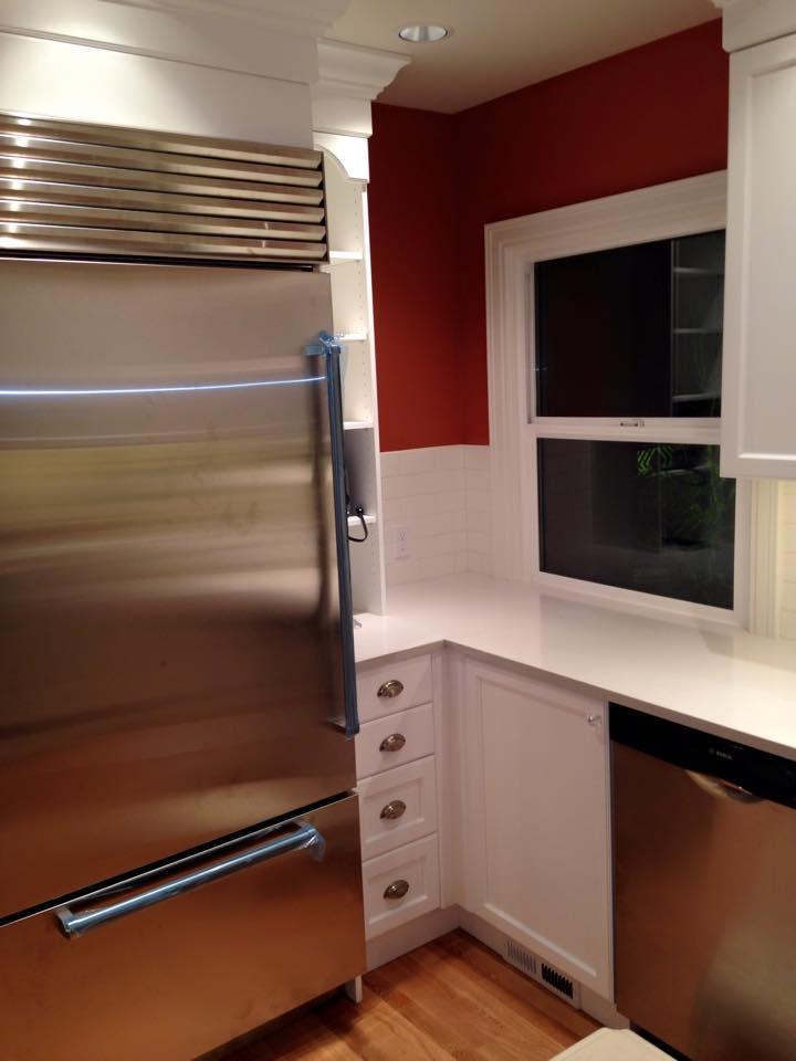 Seattle home kitchen.