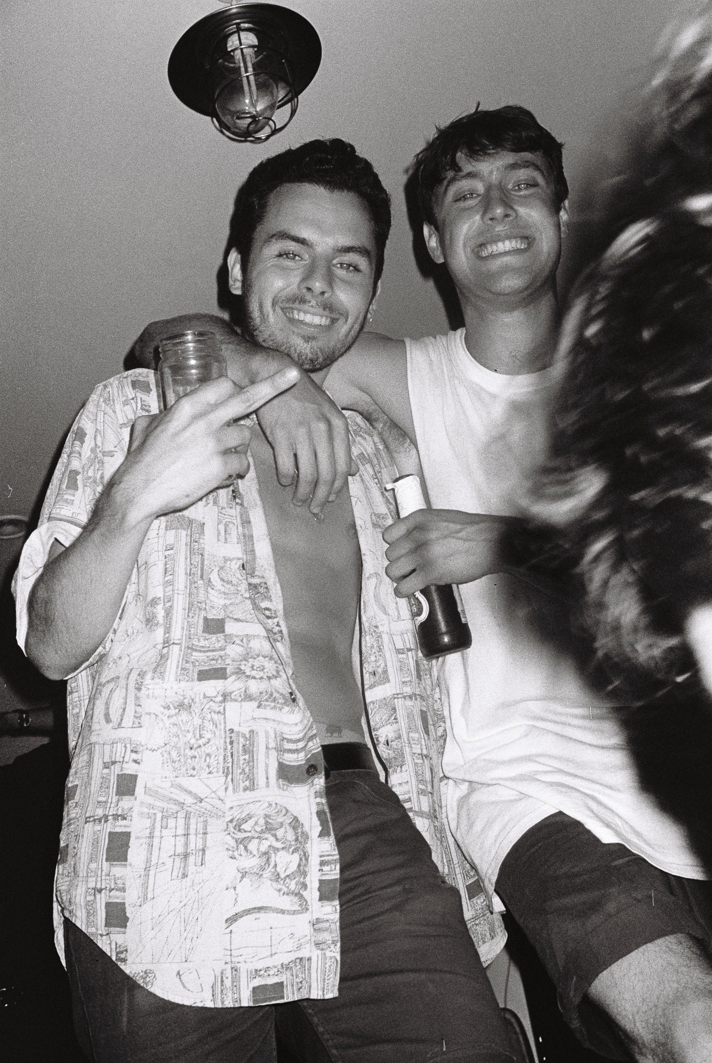 Jon & Henry, blitzed
