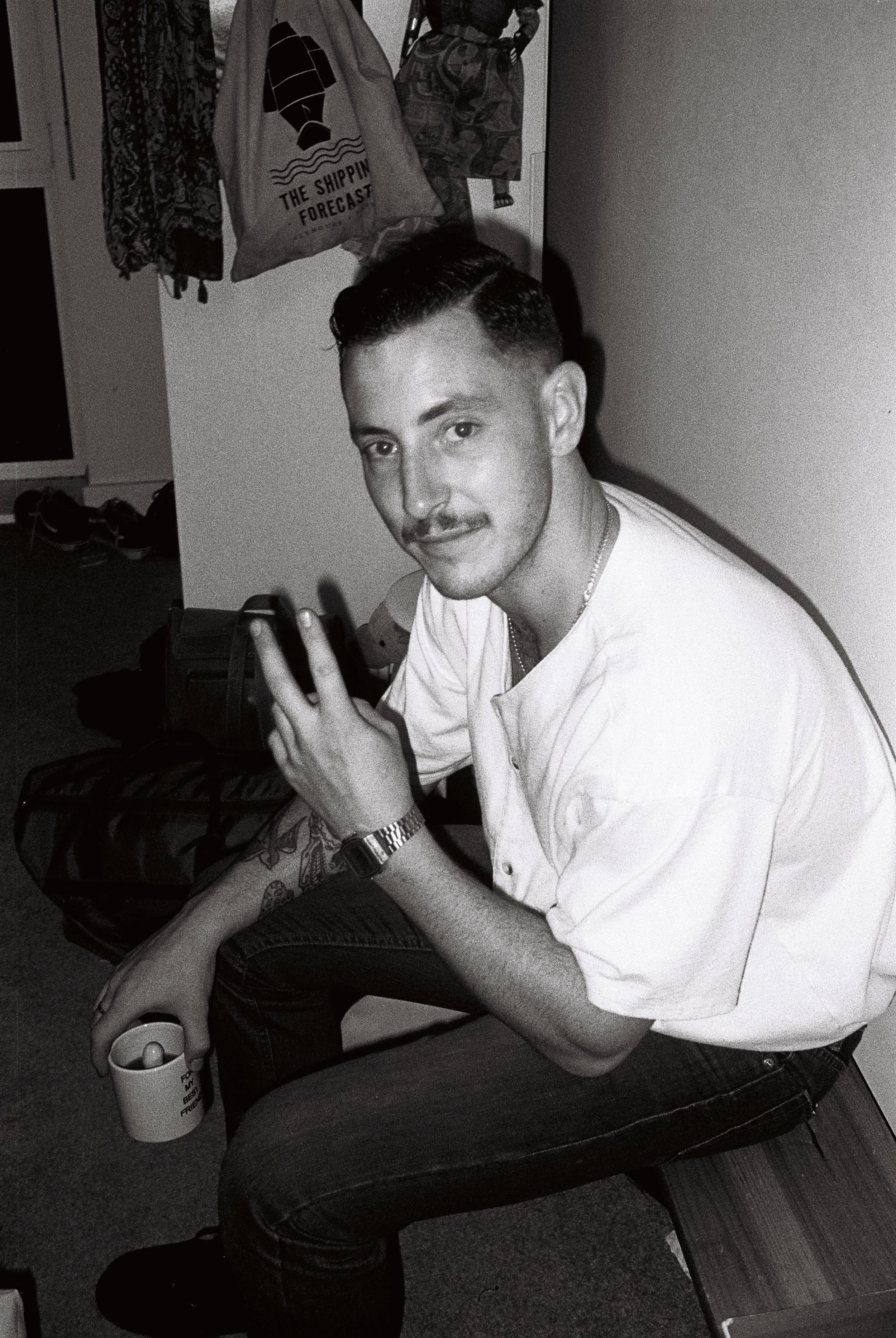 Thom Critchley, aka Chopper, Birkenhead's hardest