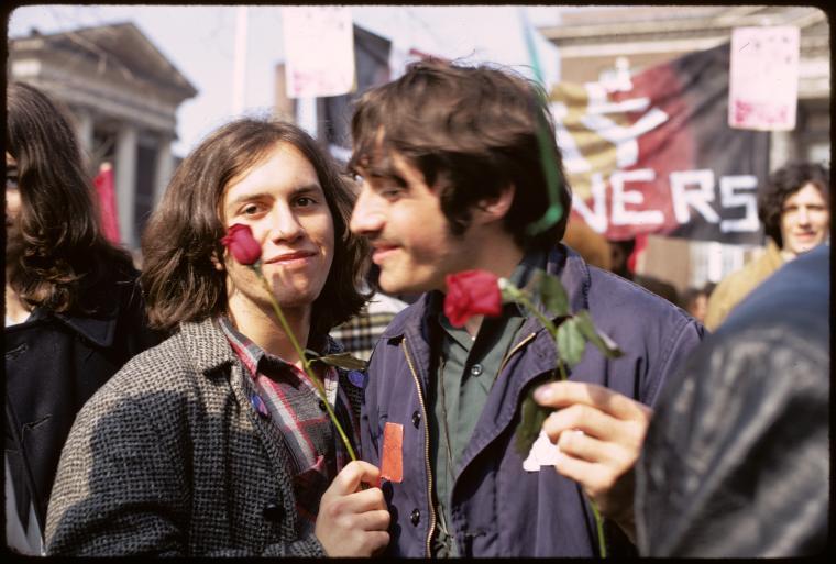 Gay rights demonstration, Albany, New York (1971)| Davies, Diana