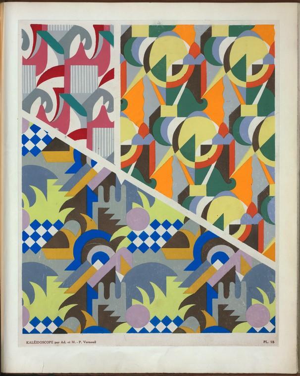 Three abstract motifs |Saudé, Jean