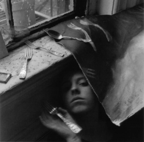 It must be time for lunch now , (1979, Estate of Francesca Woodman, NY)