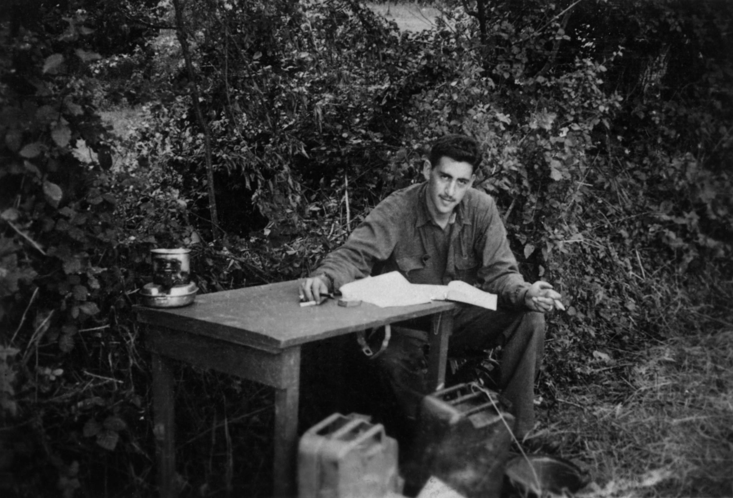 JD Salinger, WWII | Denise Fitzgerald