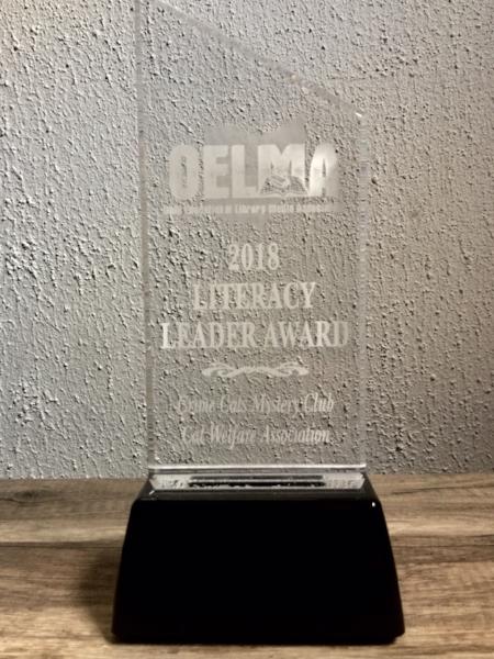 The OELMA Literacy Leader Award