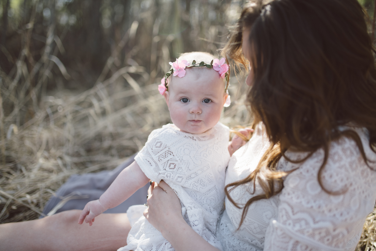 Baby Photographer in St. Albert and Edmonton, mom and daughter
