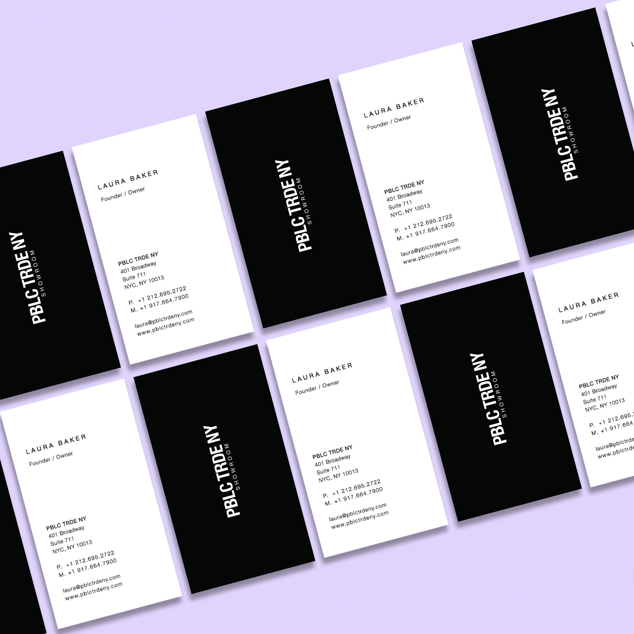 PBLC TRDE NY BUSINESS CARDS