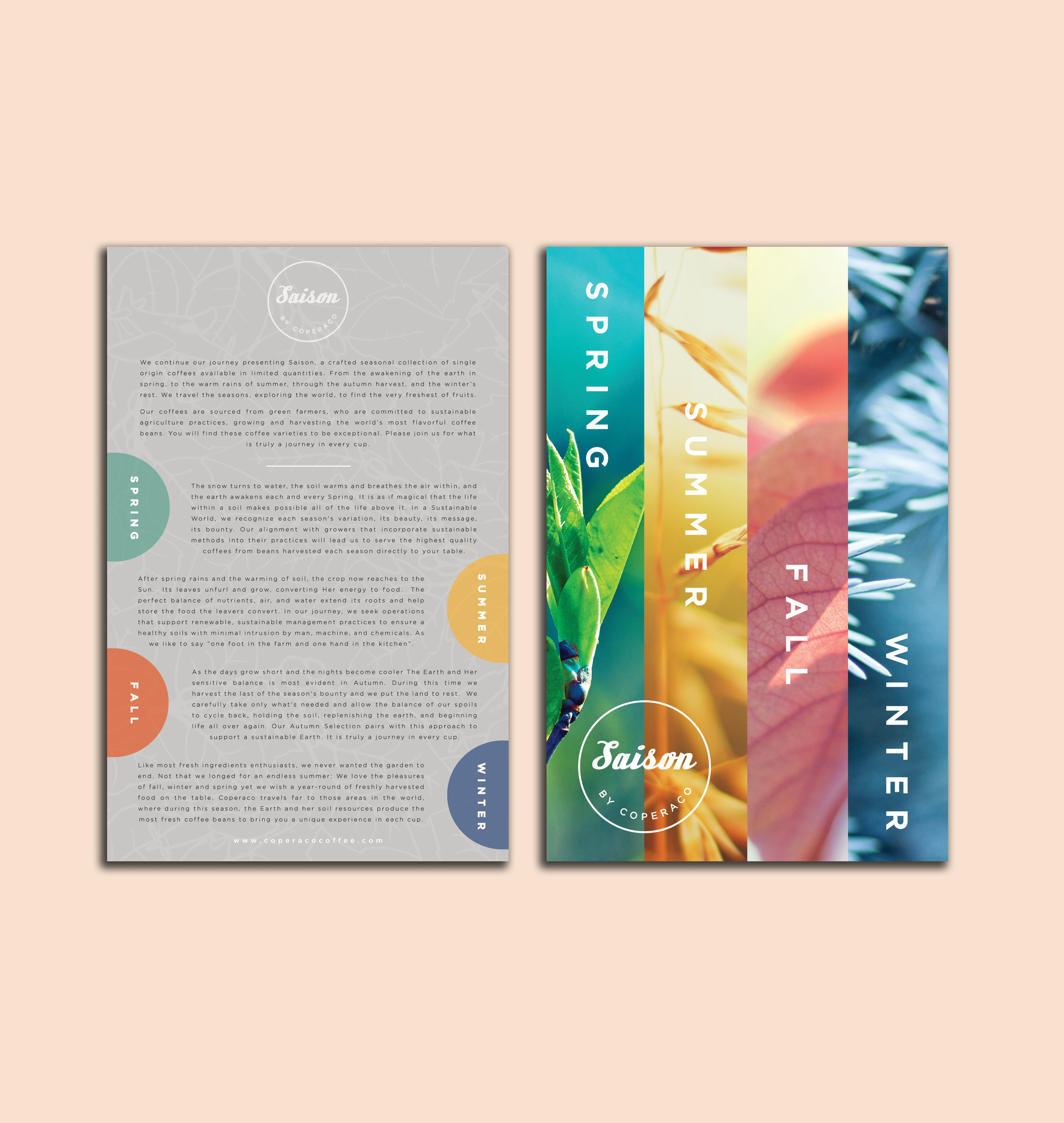 SAISON BY COPERACO BRAND FLYERS