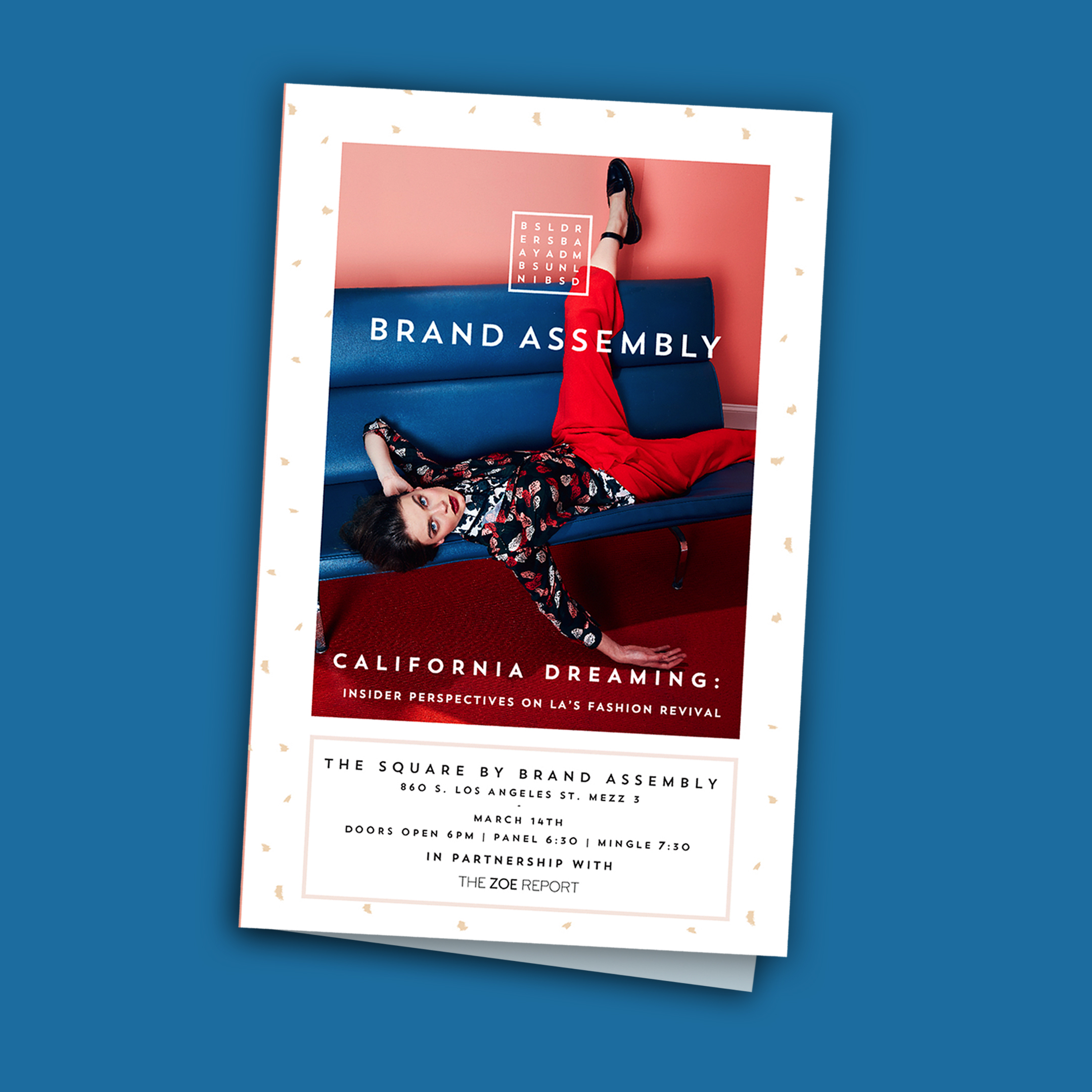 BRAND ASSEMBLY EVENT BROCHURE