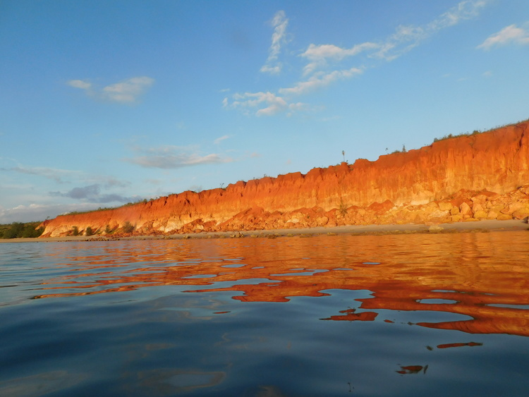 Red Cliffs in the late afternoon sun