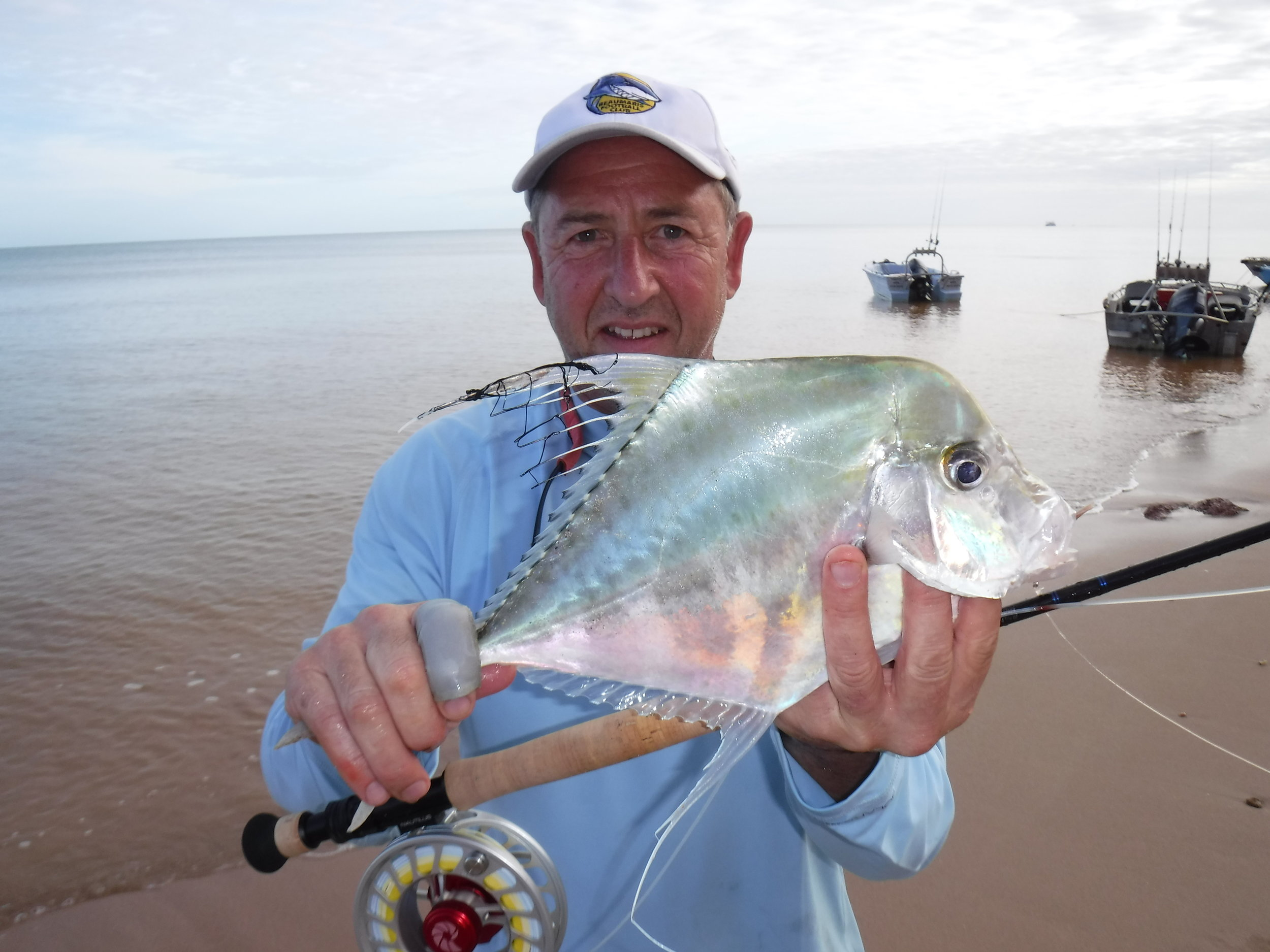 Diamond Trevally. A fly Rod special at Red Cliffs