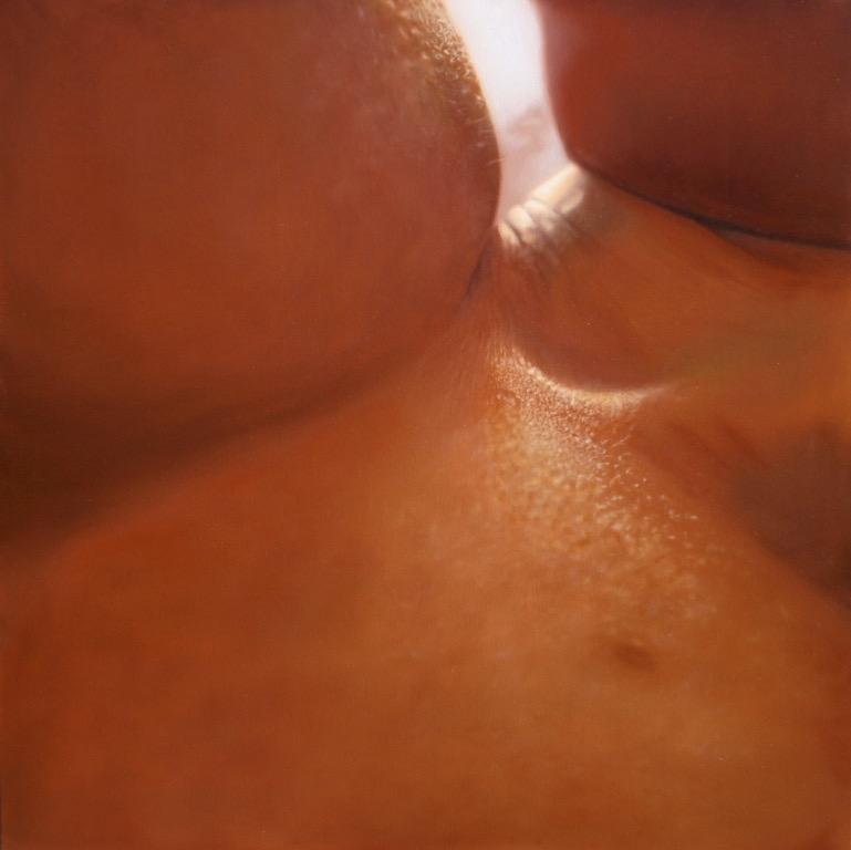 Flash, oil on canvas