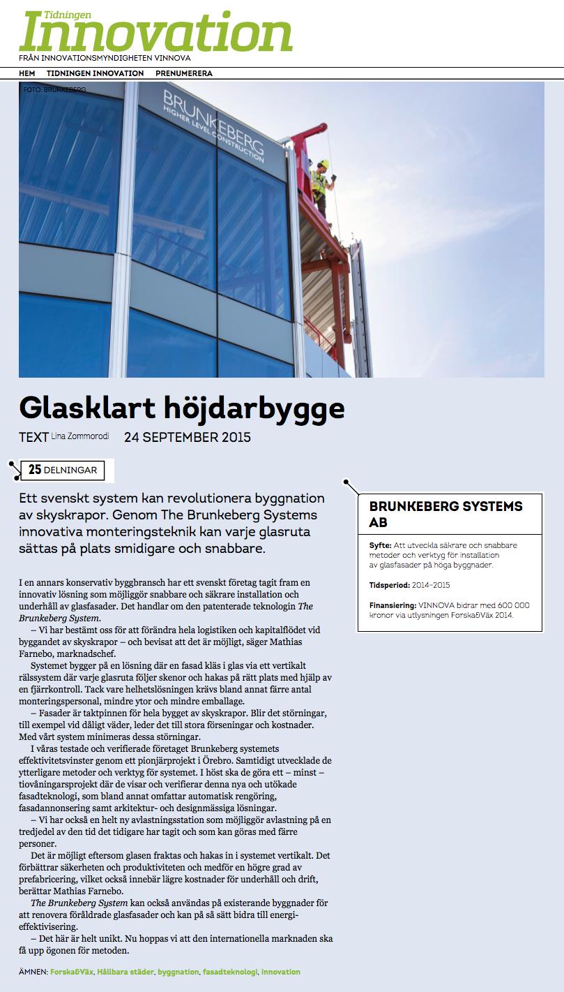 Source:  www.tidningeninnovation.se