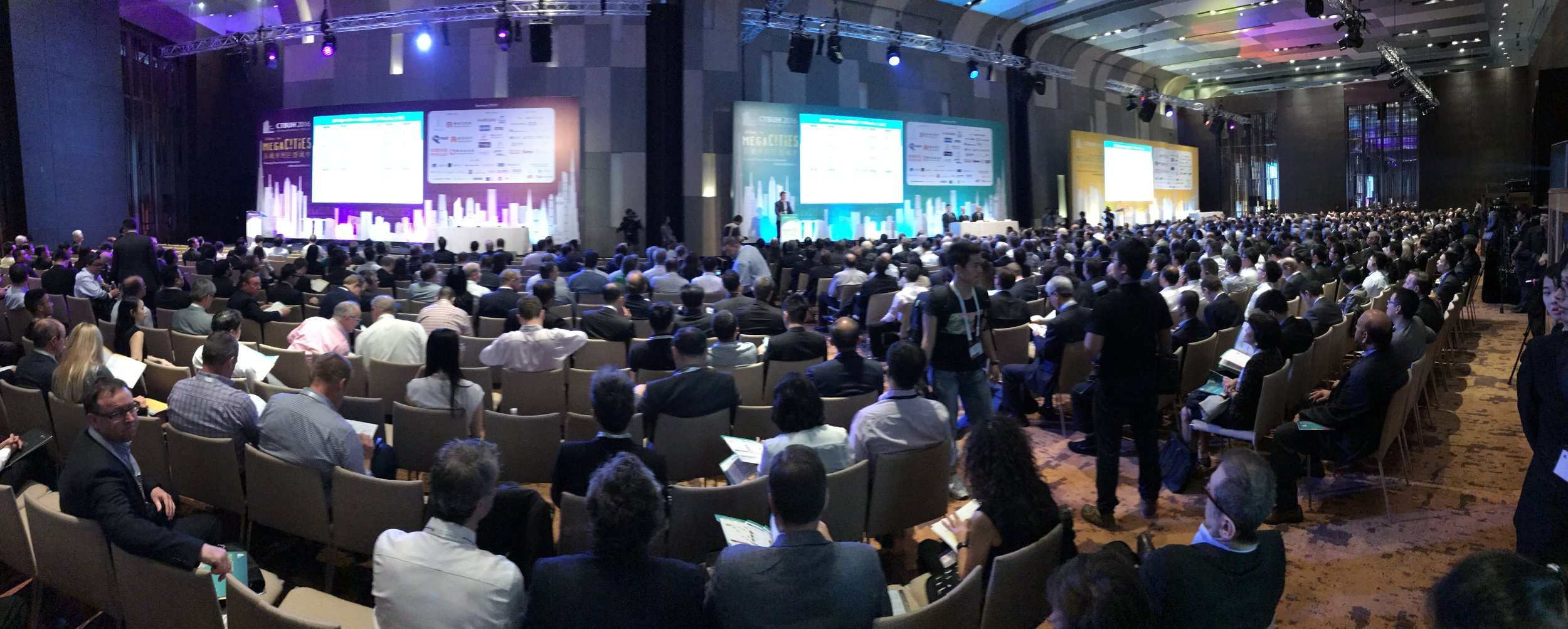 CTBUH 2016 Conference. Cities to Megacities: Shaping Dense Vertical Urbanism.    Link to  CTBUH2016.com for more conference information