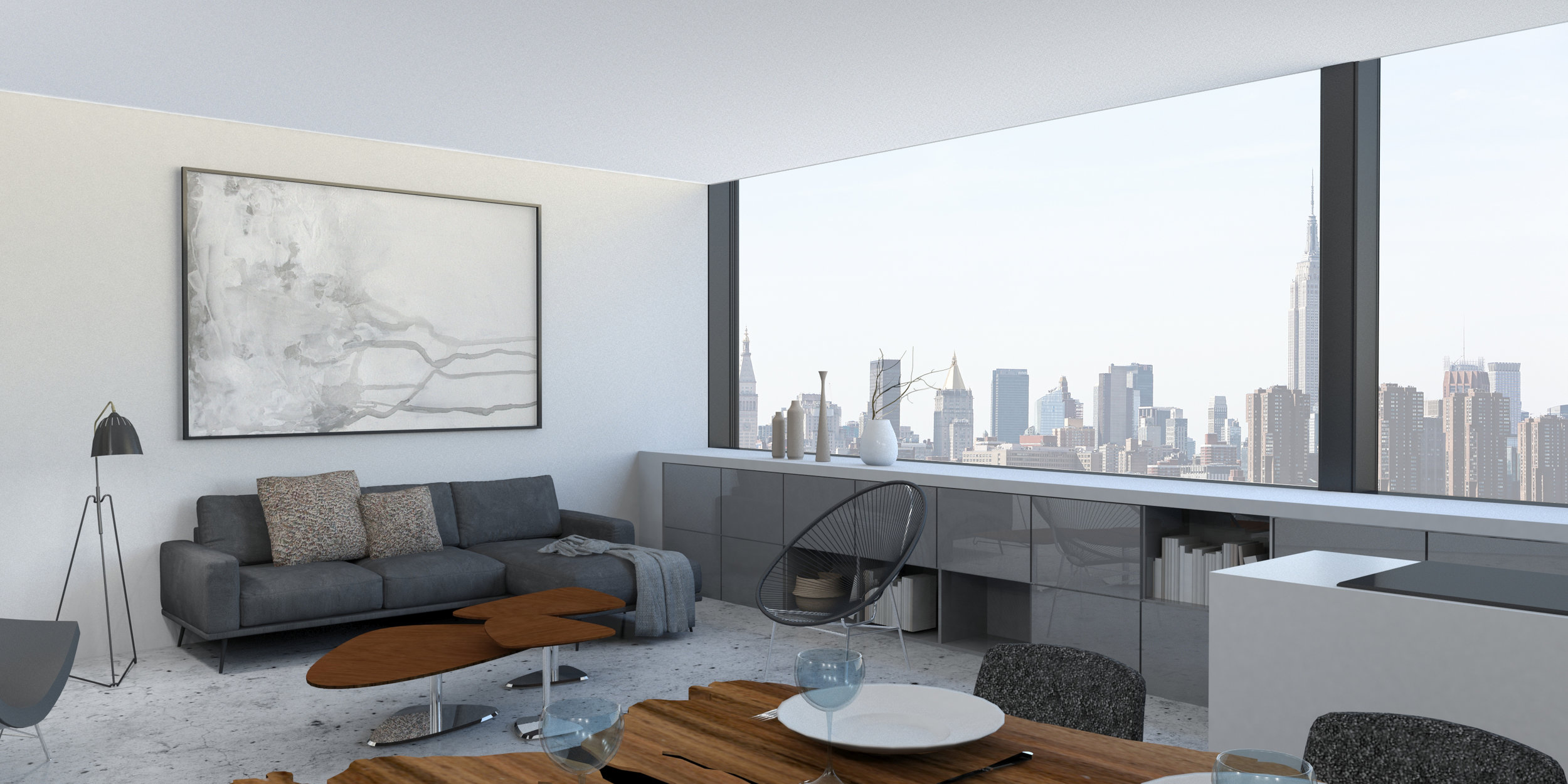 15 foot wide panels provide amazing panoramic views