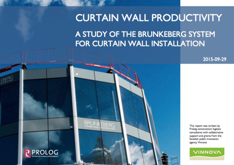 ViNNOVA Brunkeberg Productivity Report. A time study at the KTM project 2015 - English Executive Summary   -  Swedish Full Report