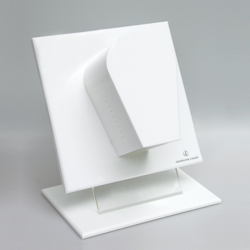 Headphone Gallery and Stand White