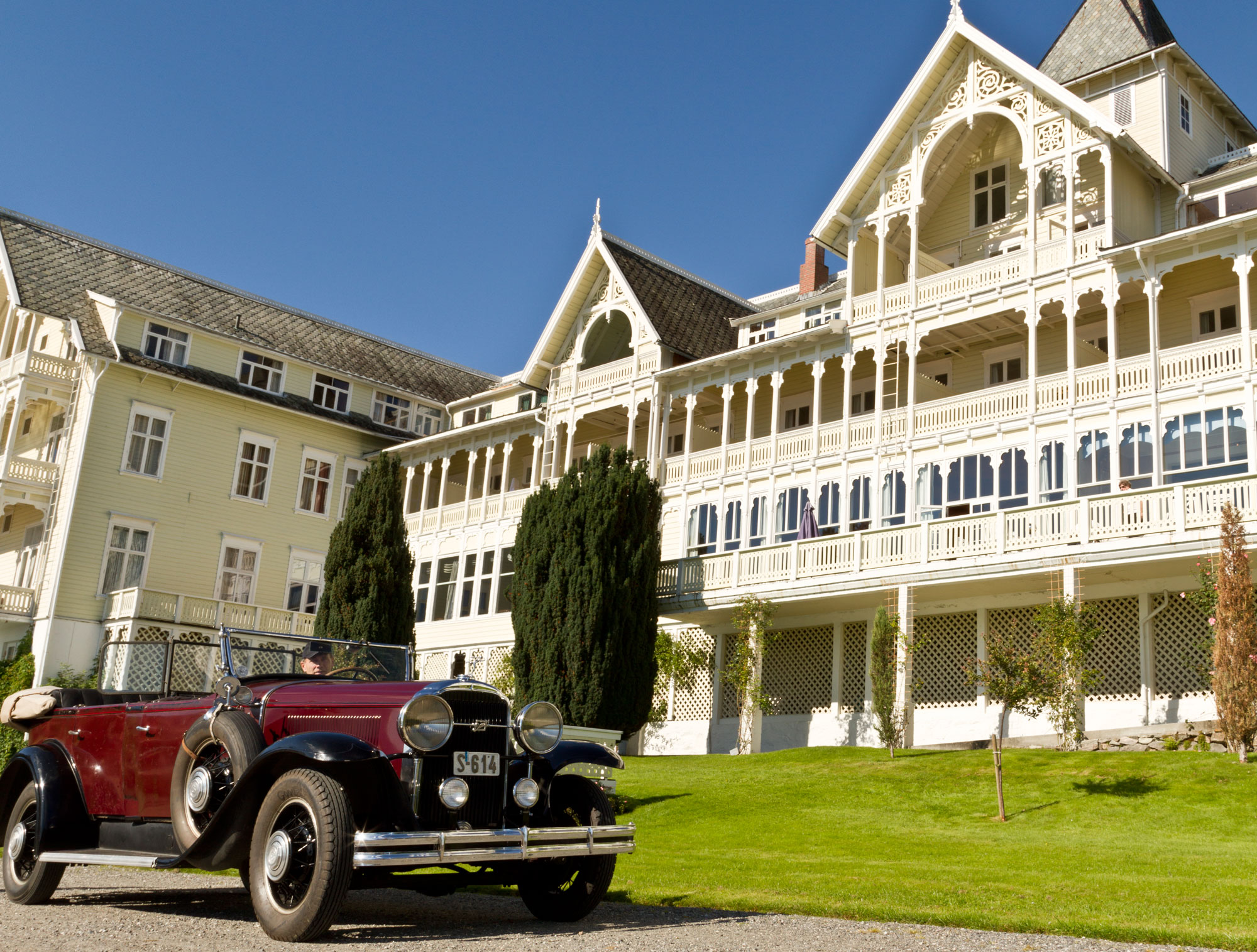 Kviknes Hotel - a fairytale castle by the Sognefjord.