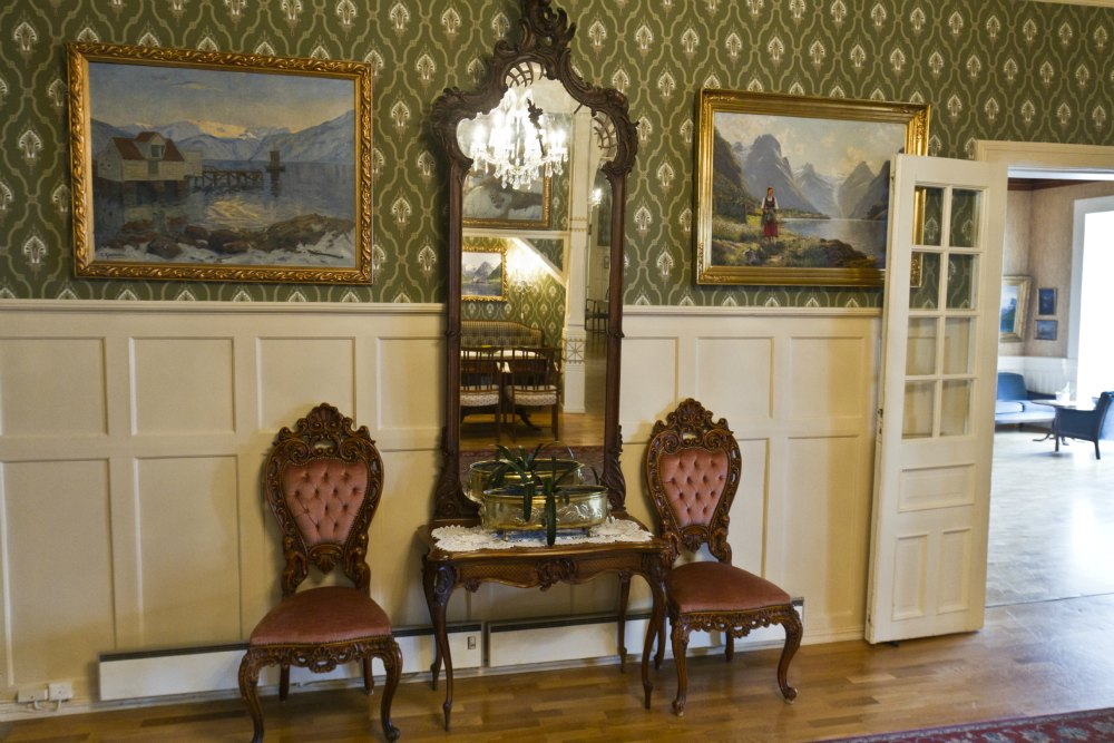 The Kvikne family have been art collectors for four generations.