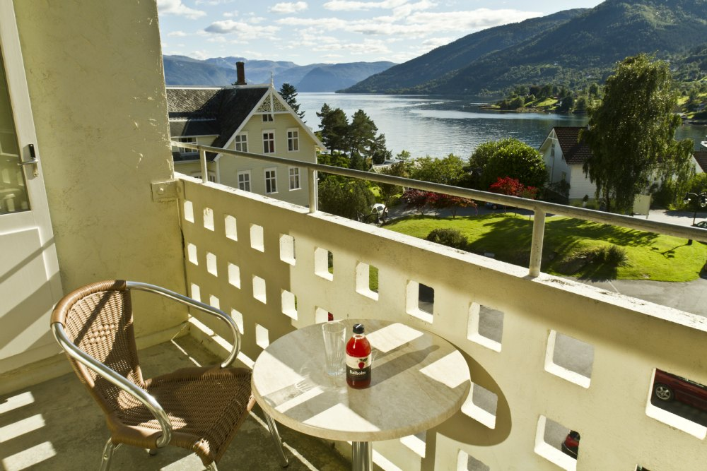 Fine view of the Sognefjord and part of Balestrand.