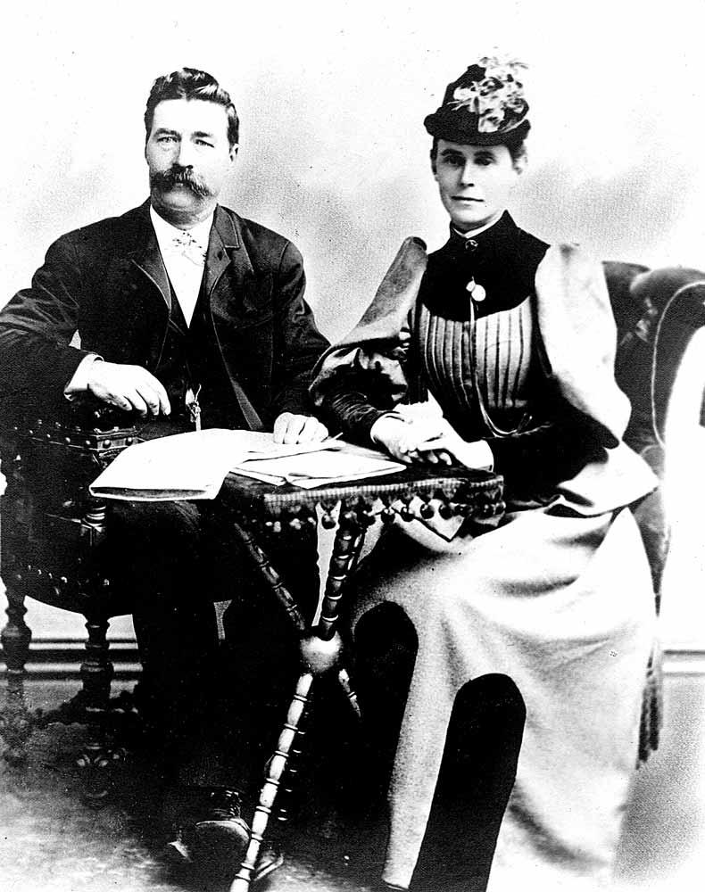 Knut and Margaret Sophia Kvikne.
