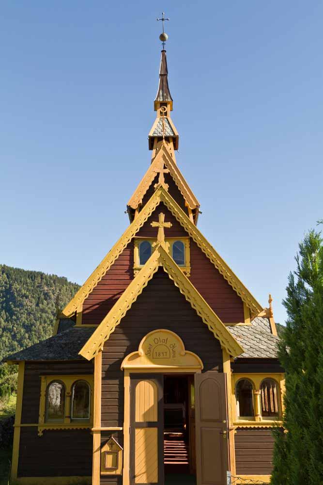 St. Olaf Church today.