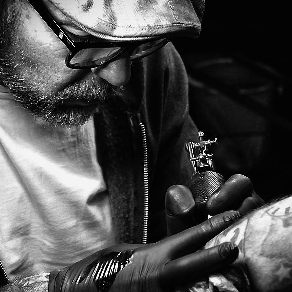 STEVE TUCKER: MANAGER/TATTOO ARTIST