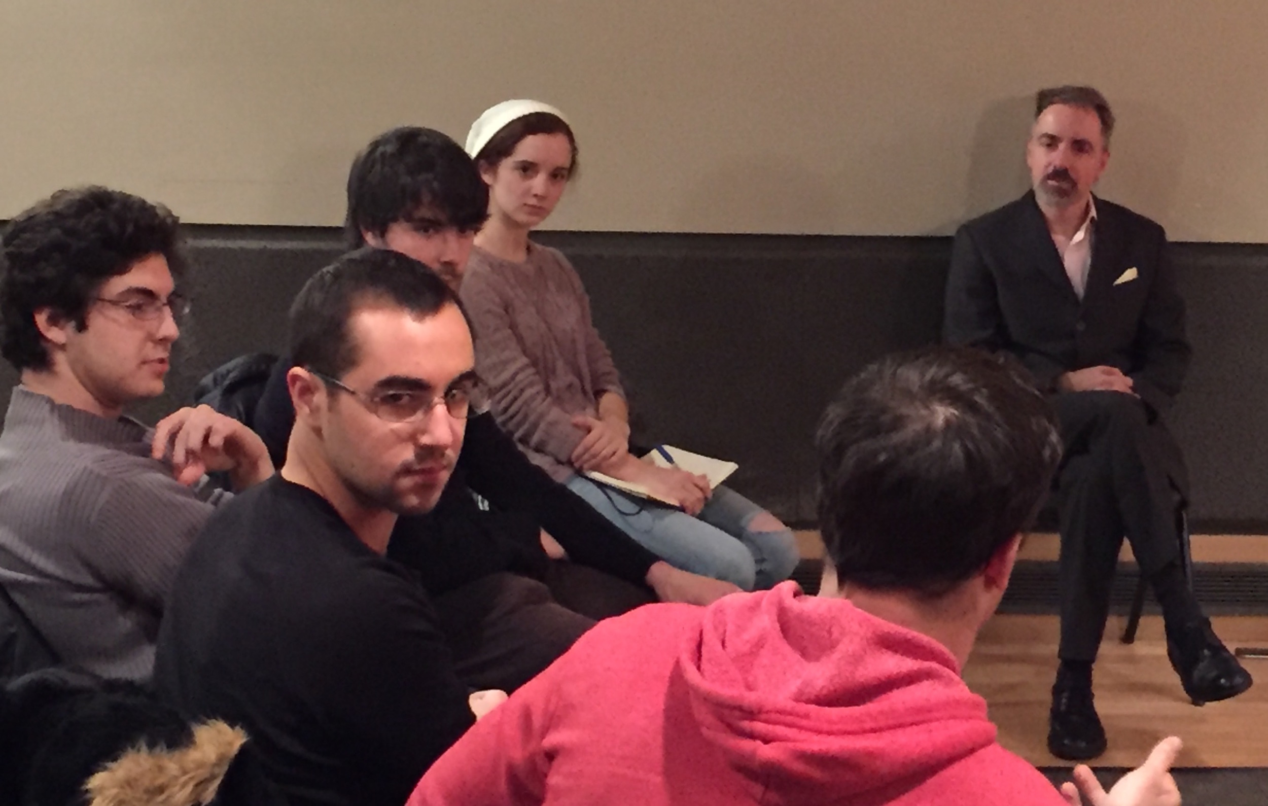 Master Class on Making a Career as a Professional Musician, at Connecticut College