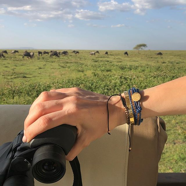 My safari essentials are binoculars, a camera and accessories. Have you seen our Miorai bracelets @ Miorai.com? #miorai #bracelets #armcandy #jewelry #watches #customwatches #bracelets