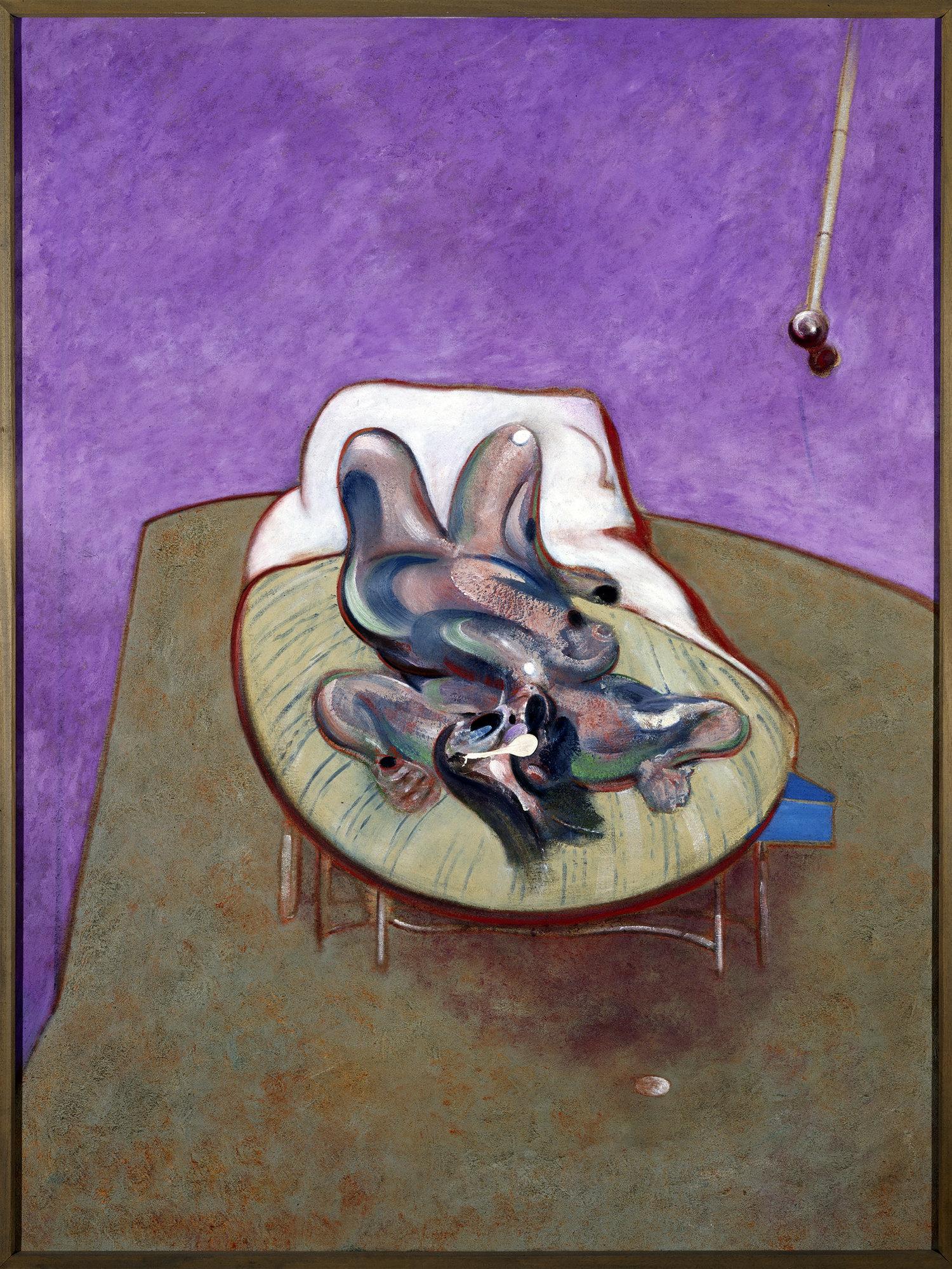 Lying Figure,Francis Bacon © Museo Reina Sofia