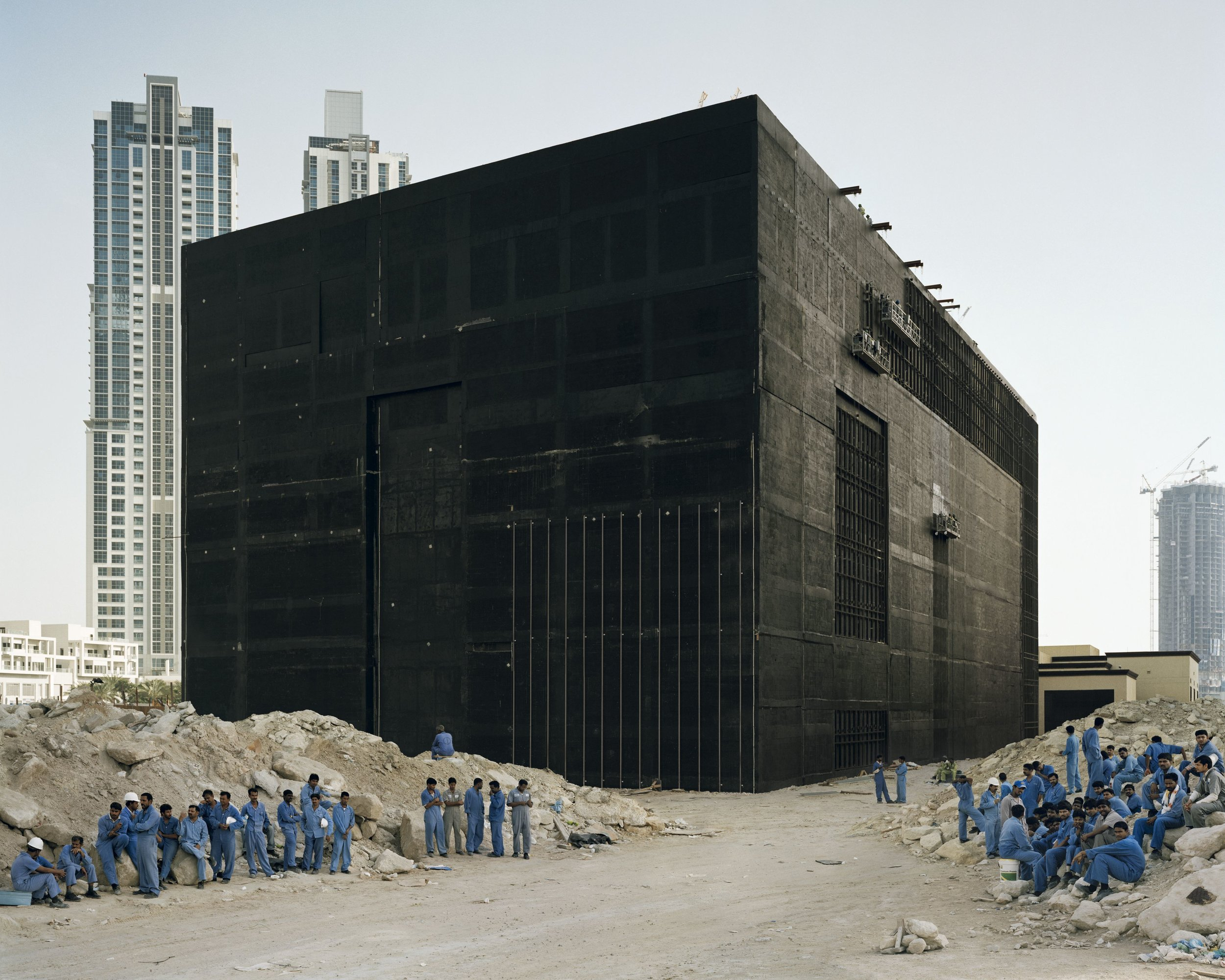 Cooling Plant, 2009, Bas Princen. On view at the MAAT exhibition. Courtesy of the artist.