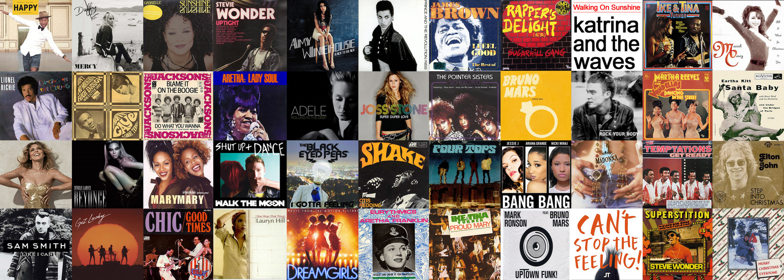 SOME FEATURED SONGS & ARTISTS - you can expect to hear when partying Queen Beats style.