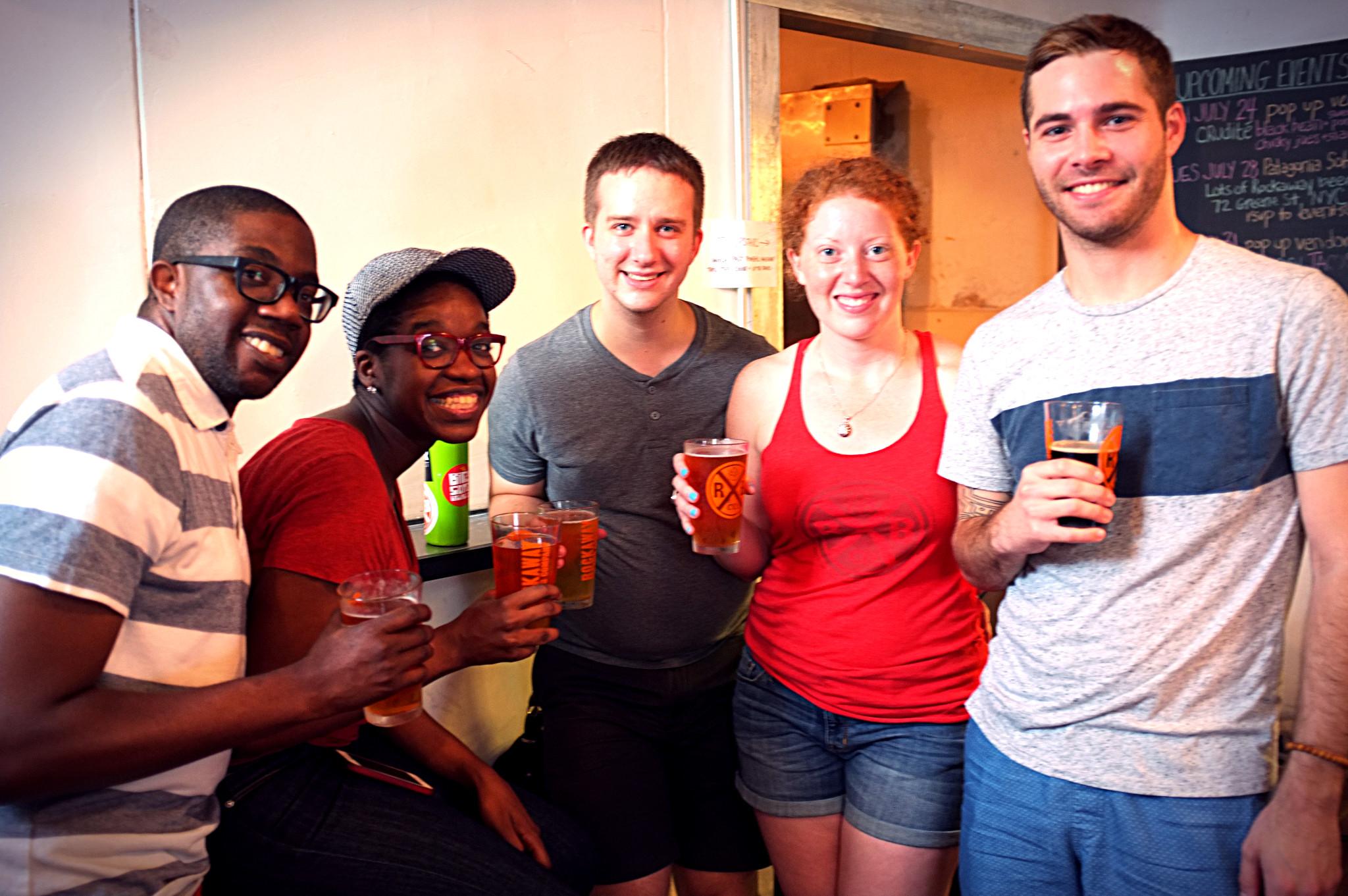 From left to right:  Beer 7: ESB. Beer 8: ESB. Beer 9: Pharm. Beer 10: ESB. Beer 11: Night Hop