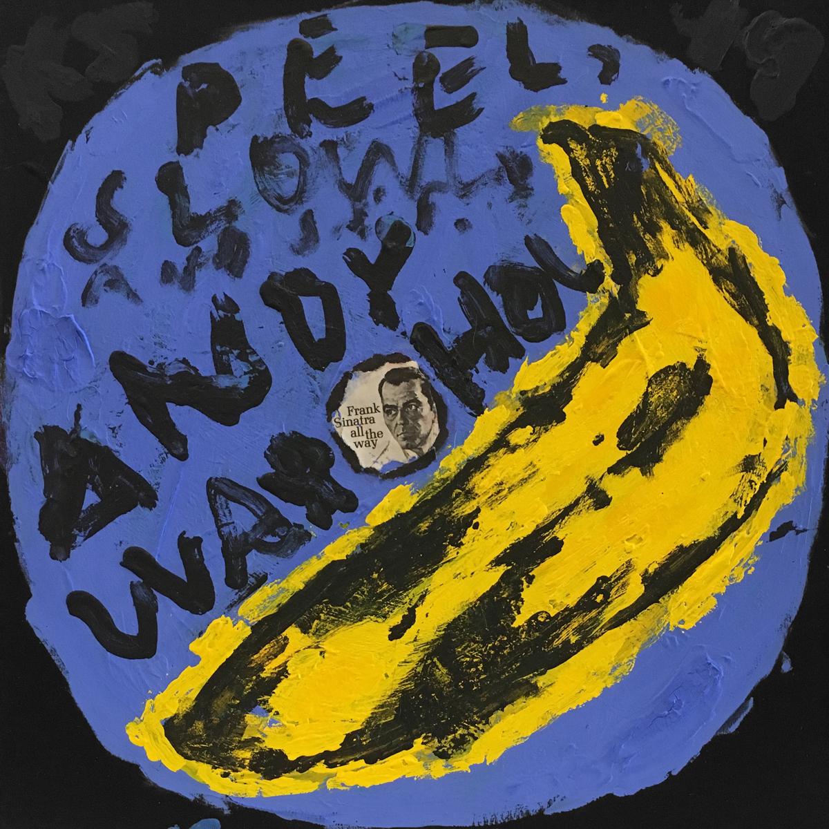 Velvet Underground / Andy Warhol (Blue)