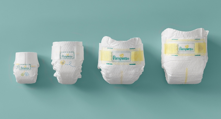 Size 3-6 diapers, pull-ups, and wipes -