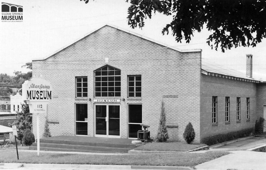 The museum moved to its current location at 112 N. Maxwell St. in 1972.