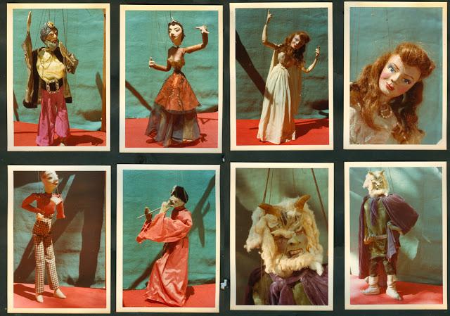 David & Helen Bogdan's marionettes, 1950-55