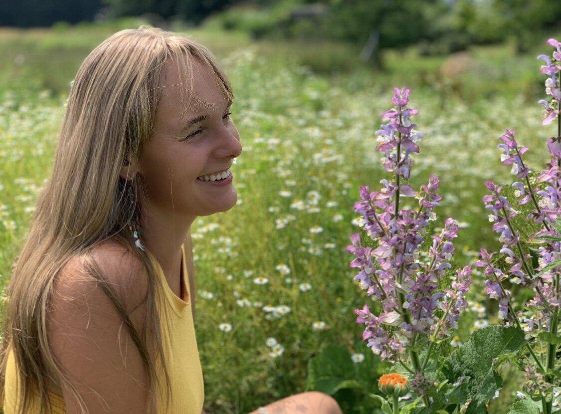 Meralee R Allen - Assistant Garden Manager/Herbalist/Artist