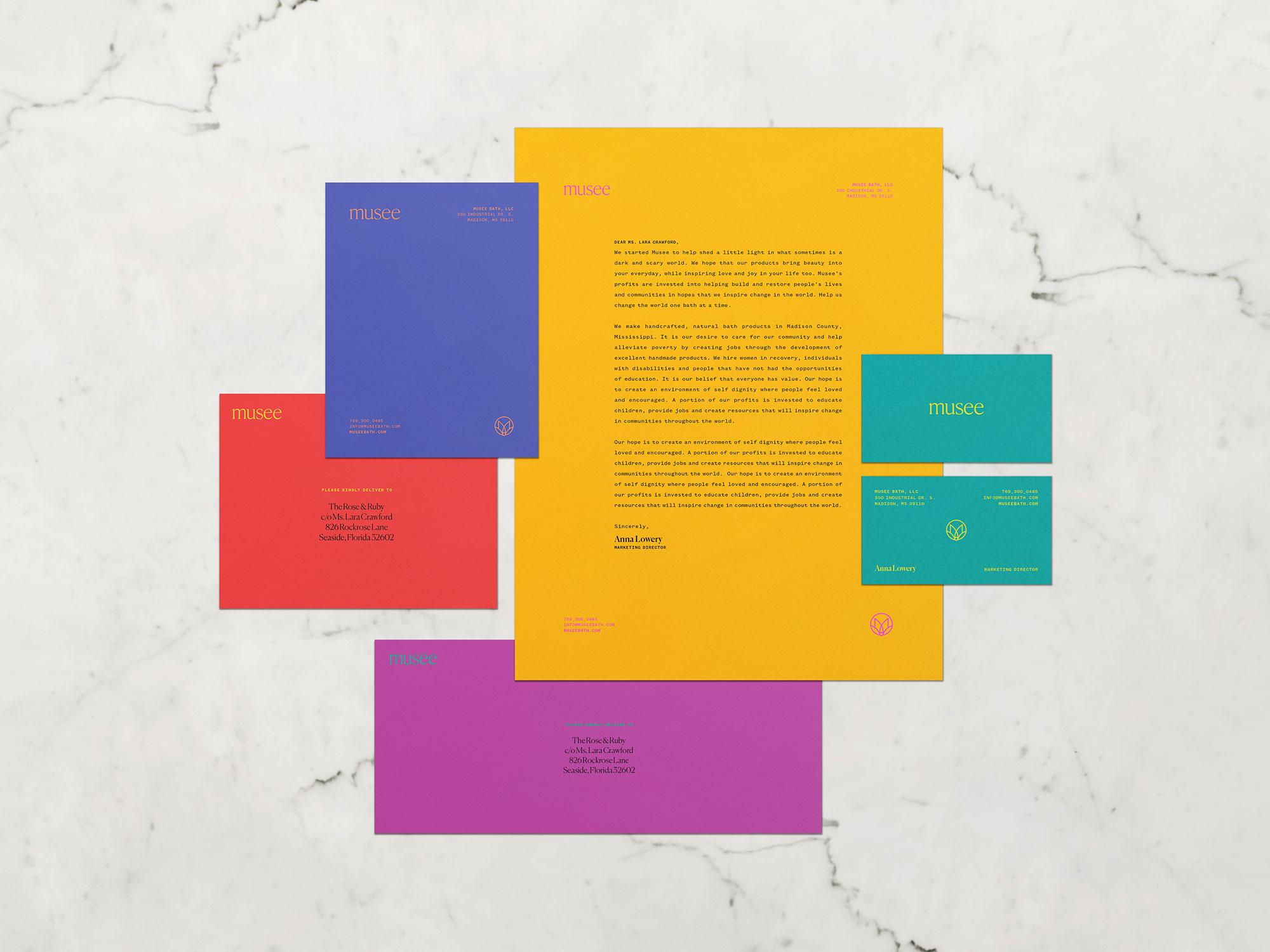 MUSEE BATH (1/3)   Studio Work Proposed Design   Creative Direction  José Reyes   Art Direction  Ashley Shugart   WORK   Branding Identity  —