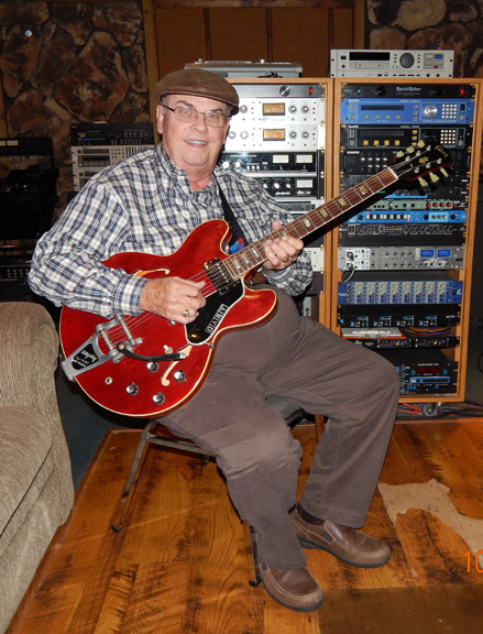 Gary Arnsparger with his Gibson