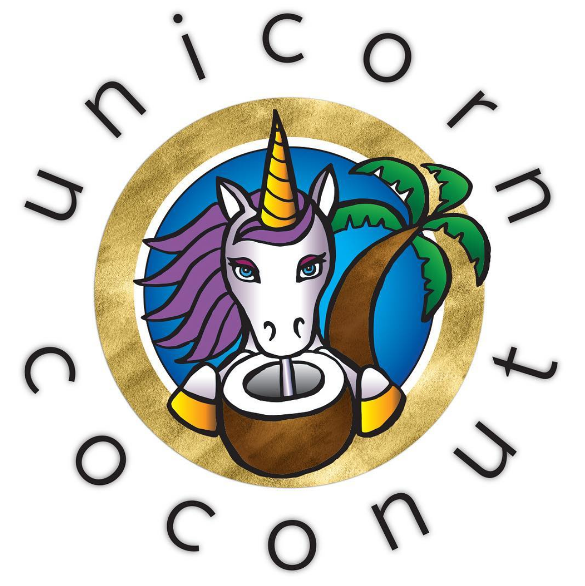 Unicorn Coconut logo