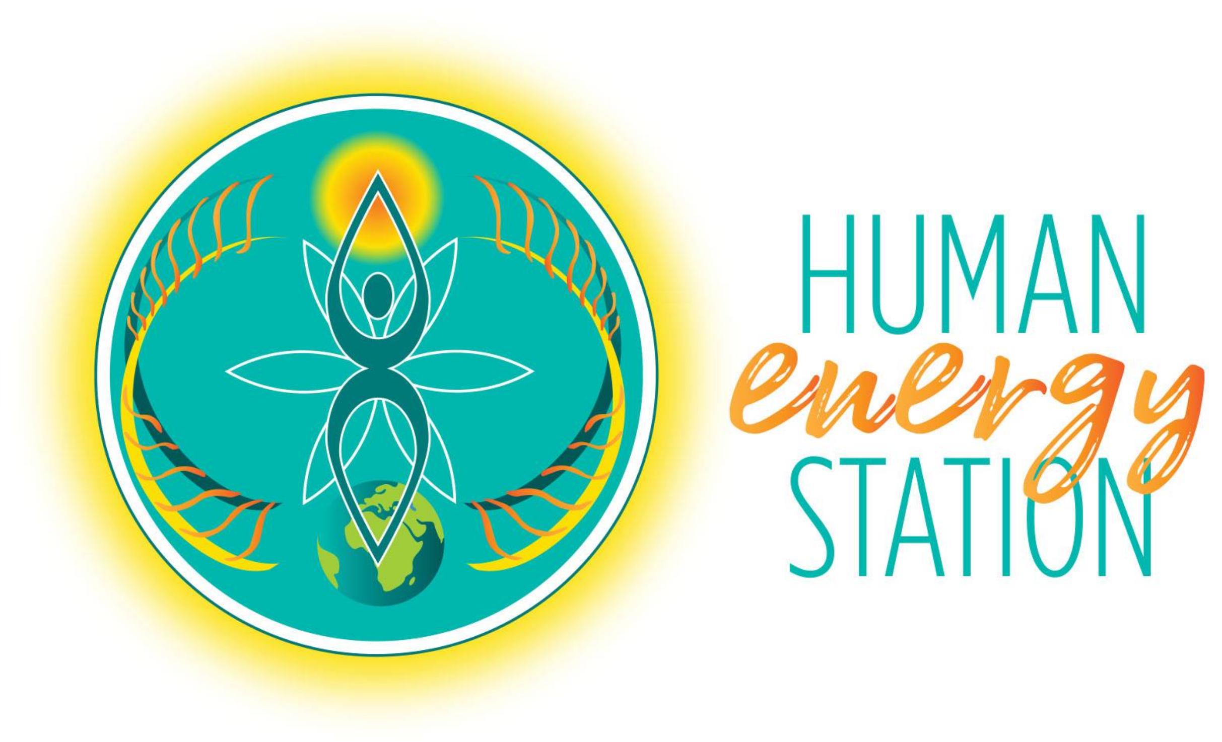Human Energy Station professional logo design