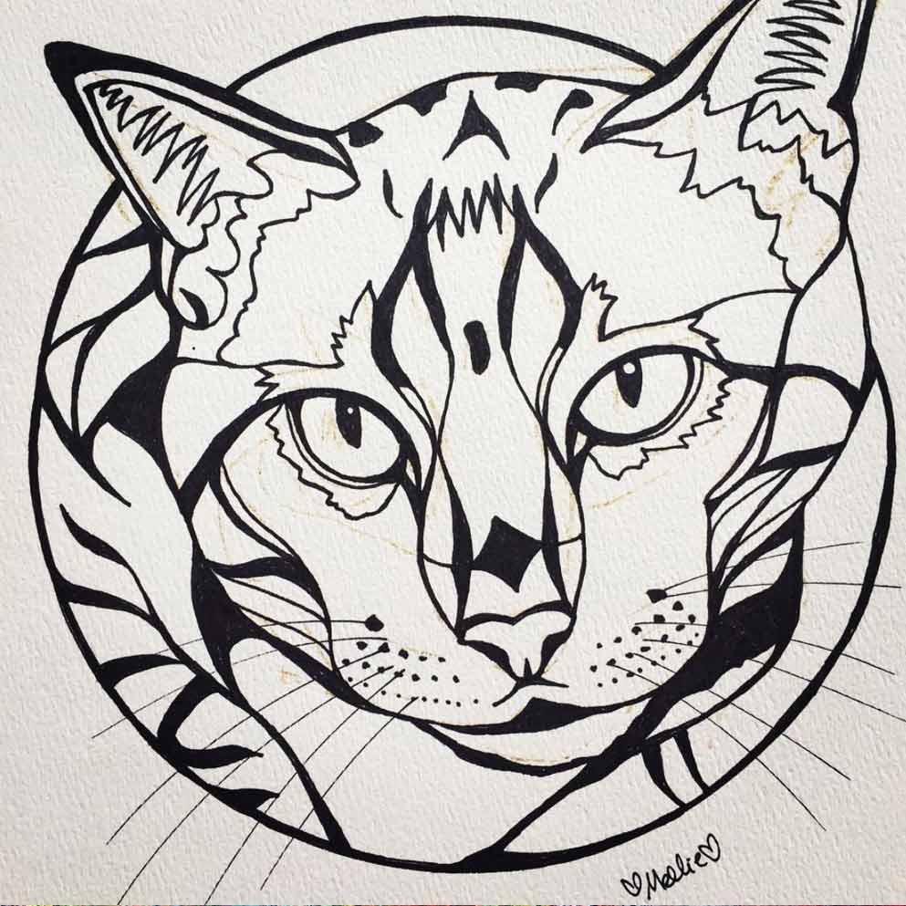 custom-cat-pet-portrait