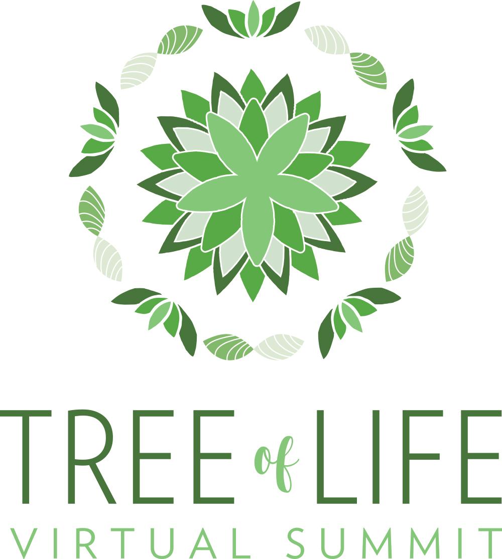 Tree of Life Virtual Summit logo design