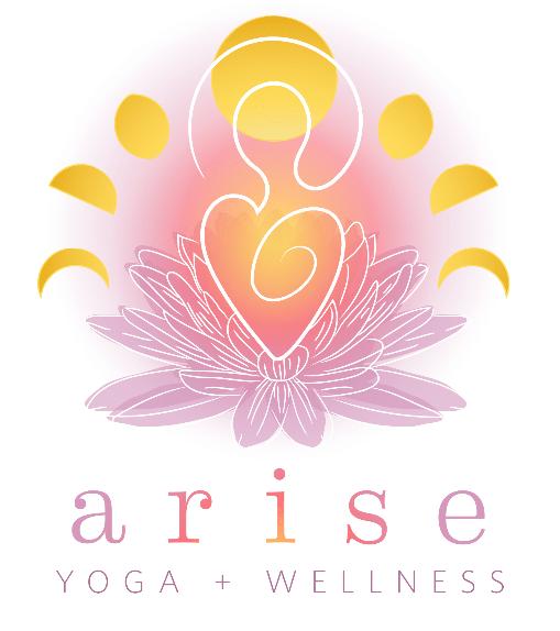 Arise Yoga and Wellness Logo Design
