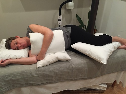 Sleep Positioning for Back and Shoulder Pain